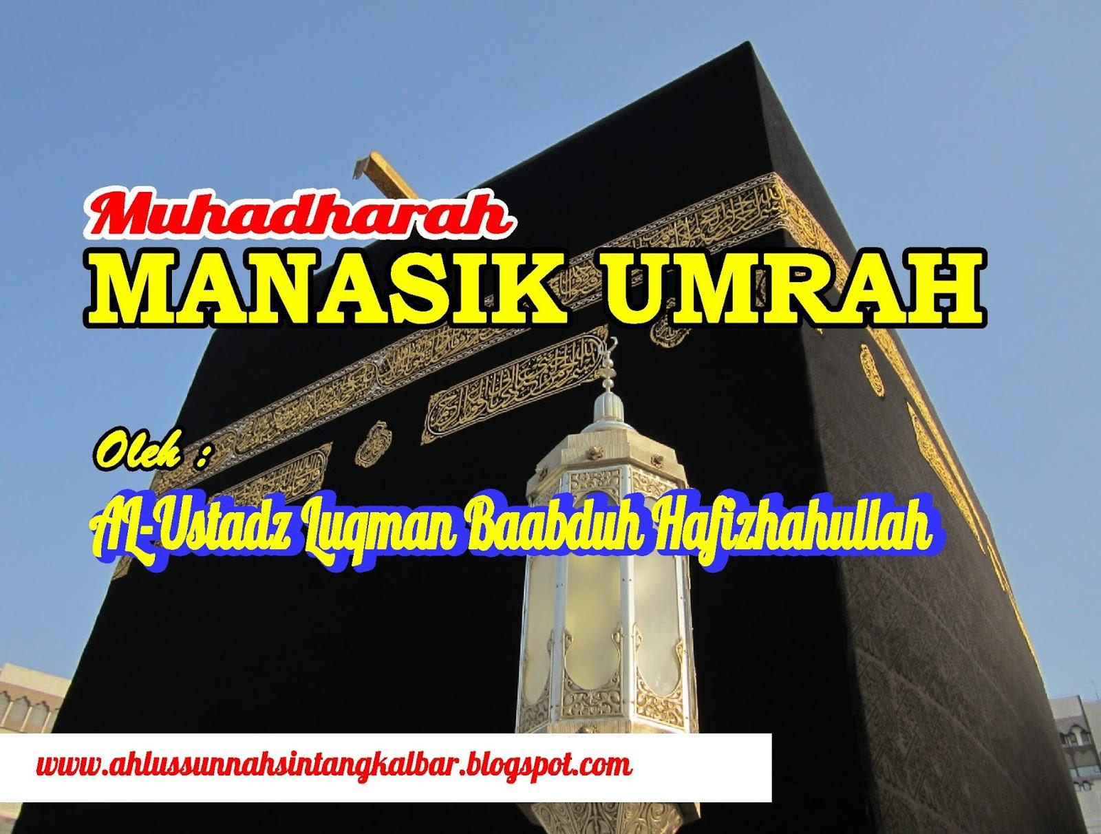 Manasik Umrah