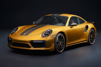 Porsche 911 Turbo S Exclusive Series (2017) Front Side