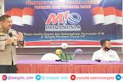 Kabid Humas Polda NTB Isi Tak Show di Pelantikan Pengurus MIO Nusa Tenggara Barat