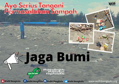 Penanganan Sampah Pantai Bengkulu
