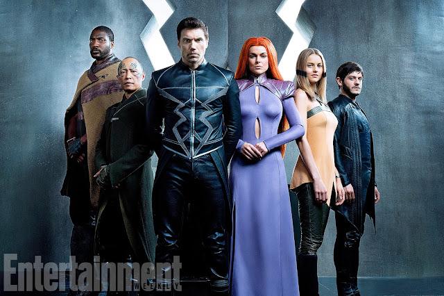 Inumanos série TV Marvel
