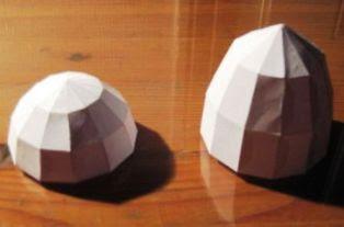 cara bikin bola geometri dari kerts