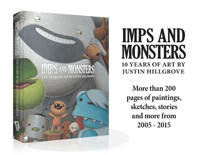 https://www.kickstarter.com/projects/99575233/imps-and-monsters-ten-years-of-art-by-justin-hillg