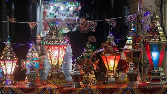 Palestinians in the Gaza Strip welcome Muslim holy month of Ramadan inspite of coronavirus pandemic outbreak