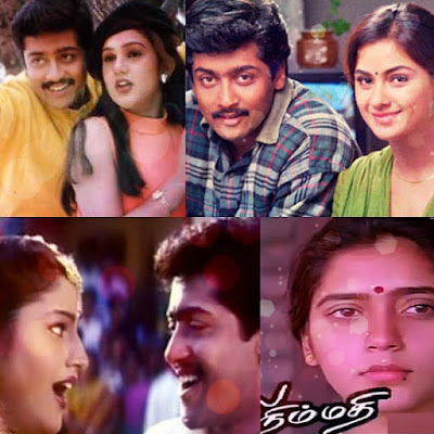Some of The Heroines of Actor Surya