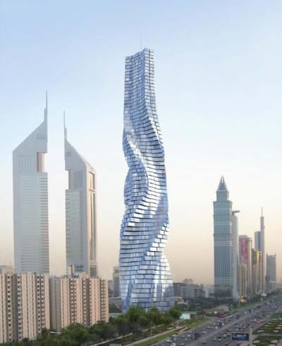 dinamic tower-dubai-grattacielo