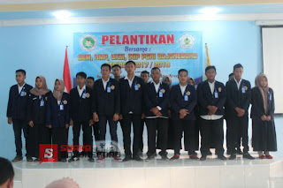 Pengurus Organisasi Mahasiswa Intra Kampus IKIP PGRI Bojonegoro, Dilantik