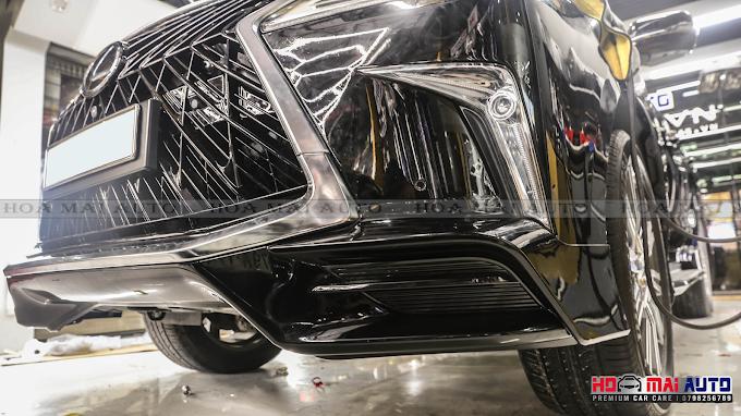 Chuyên cơ mặt đất Lexus LX570 lên bodykit TẠI HOA MAI AUTO