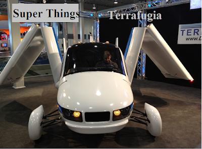 Terrafugia flying car for future