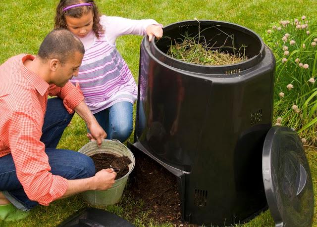 alat pengomposan sampah (komposting)