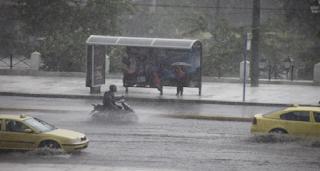 Καιρός «Χάθηκε» το καλοκαίρι - Με βροχές και καταιγίδες