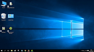 Menambahkan Shortcut Control Panel dan Computer di Desktop Windows 10