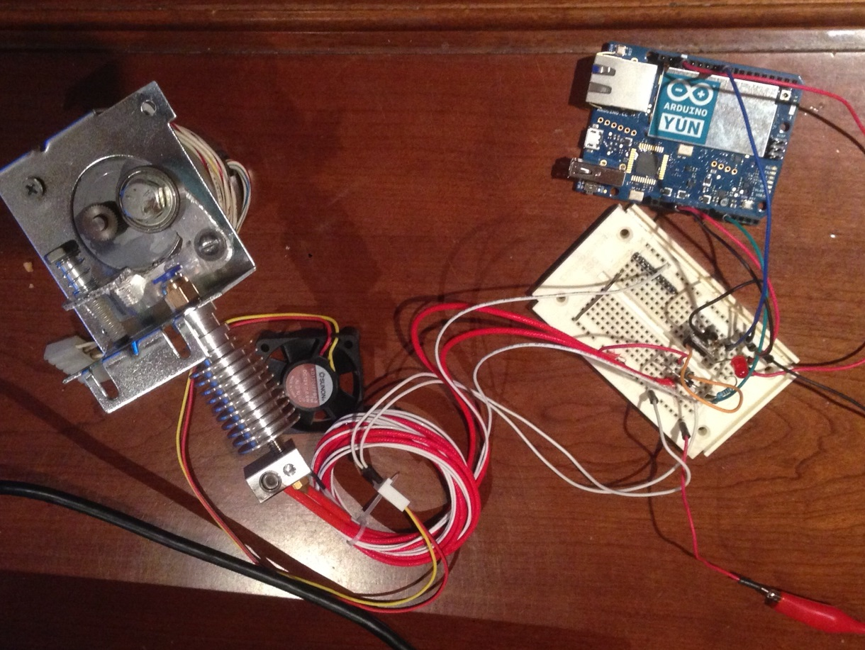 Damon's Random Ramblings: DIY Hot End - Arduino PID control