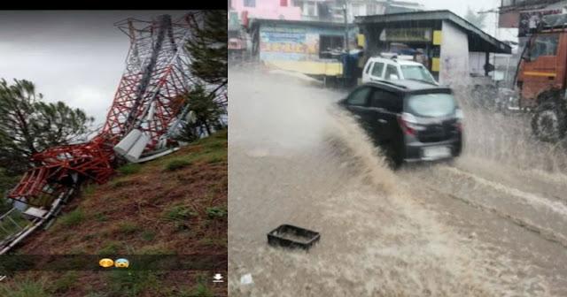 हिमाचल रातों-रात बदला मौसम: बादल फटा, बारिश हुई; अभी 4 दिन जारी रहेगा आफत-राहत का दौर