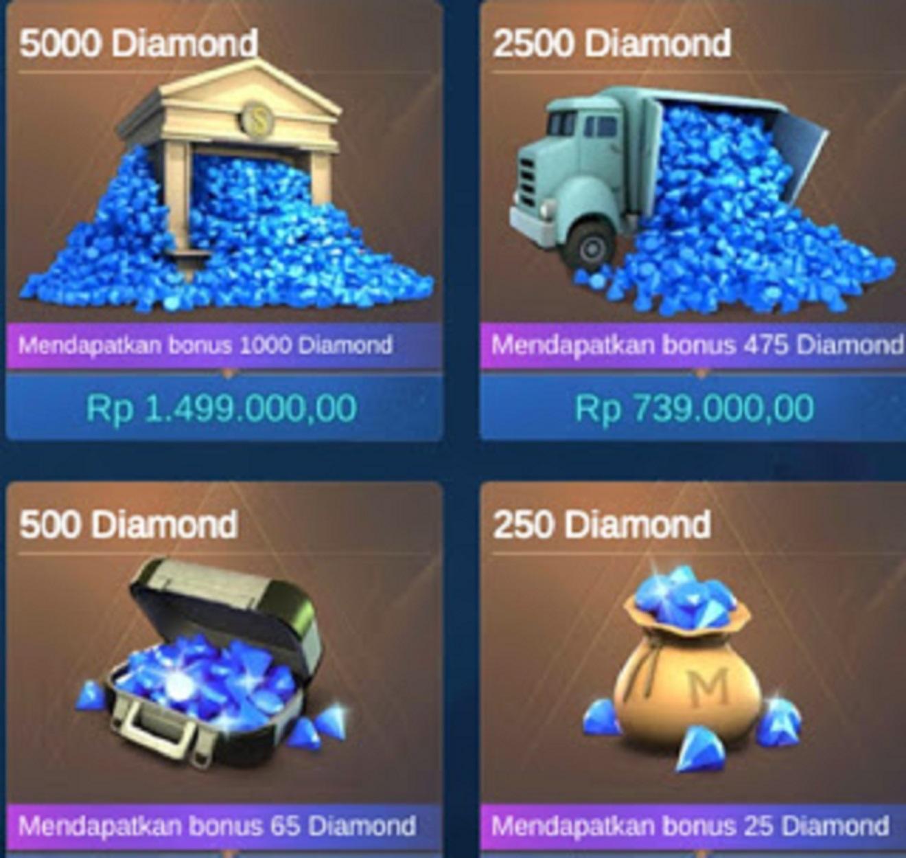 aplikasi penghasil diamond ML