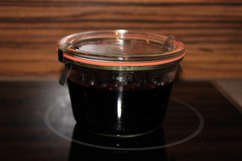 Dampfgarer Rezepte: Heidelbeeren einlegen / Heidelbeeren