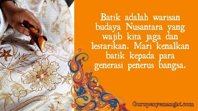 Caption Ucapan Hari Batik Nasional