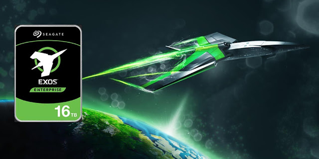 Seagate lança o primeiro HDD de 16 TB do mundo para datacenters