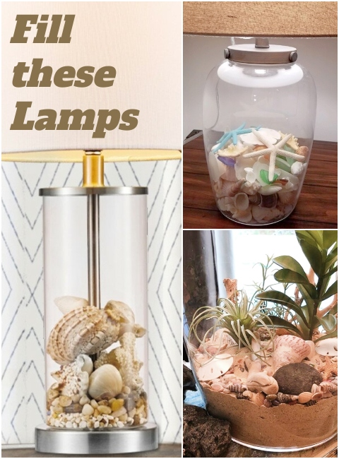 Fill Clear Glass Table Lamp