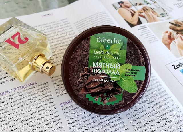 Faberlic peeling do ciała czekolada z miętą