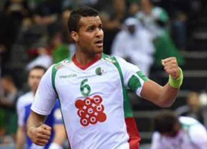 الجزائري مسعود بركوس يفوز بأفضل لاعب في مباراة فرنسا ببطولة اليد