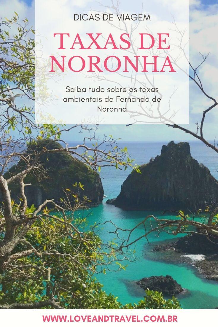 Quais são as taxas ambientais de Fernando de Noronha?