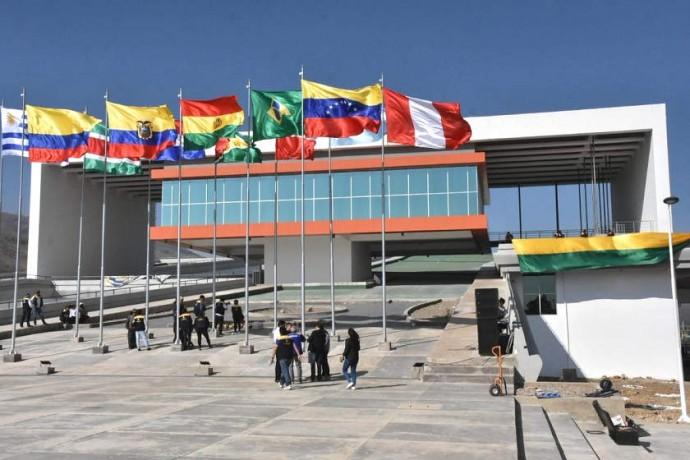 La sede del parlamento de Unasur edificada en Cochabamba solo congregó una reunión internacional  / ARCHIVOS
