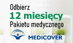 Roczny pakiet medyczny Medicover za konto BNP Paribas