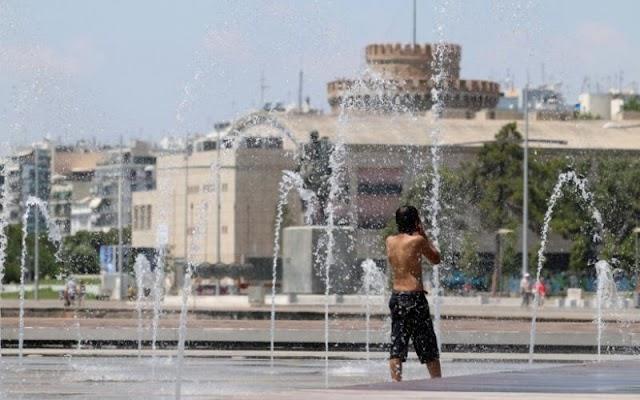Έρχεται ισχυρός καύσωνας έως 43 βαθμούς – Πότε «χτυπάει» 40αρι στη Θεσσαλονίκη