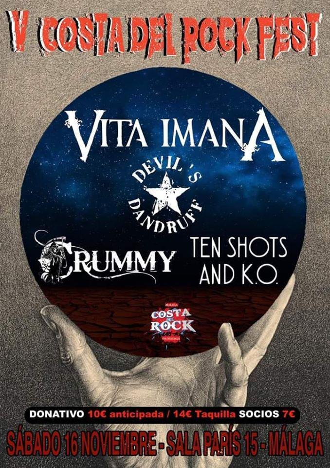 V Costa Del Rock Fest Poster
