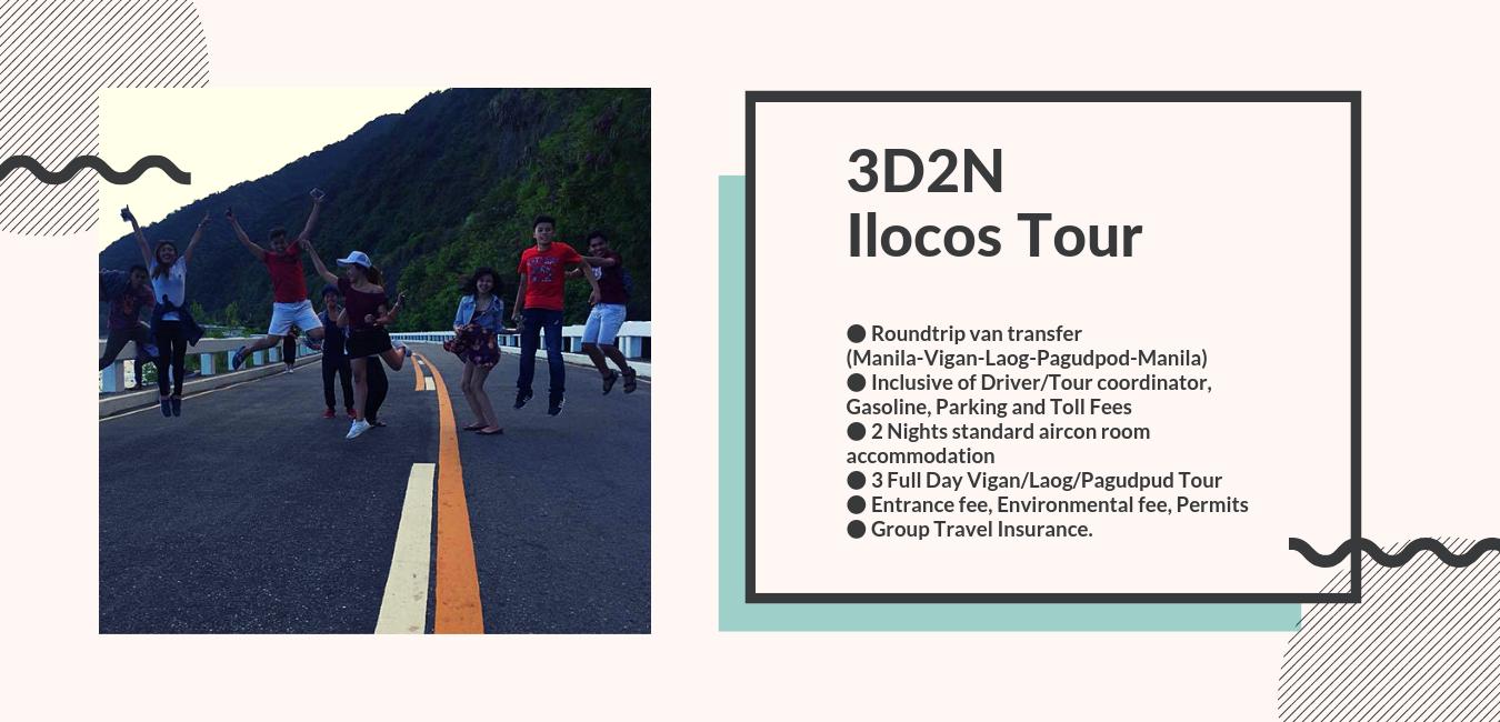 3 Days 2 Nights Ilocos Tour