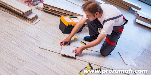Keunggulan SPC Flooring - mudah dipasang
