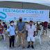 Em Sobrado - covid-19: donos de estabelecimentos e funcionários do comércio são testados