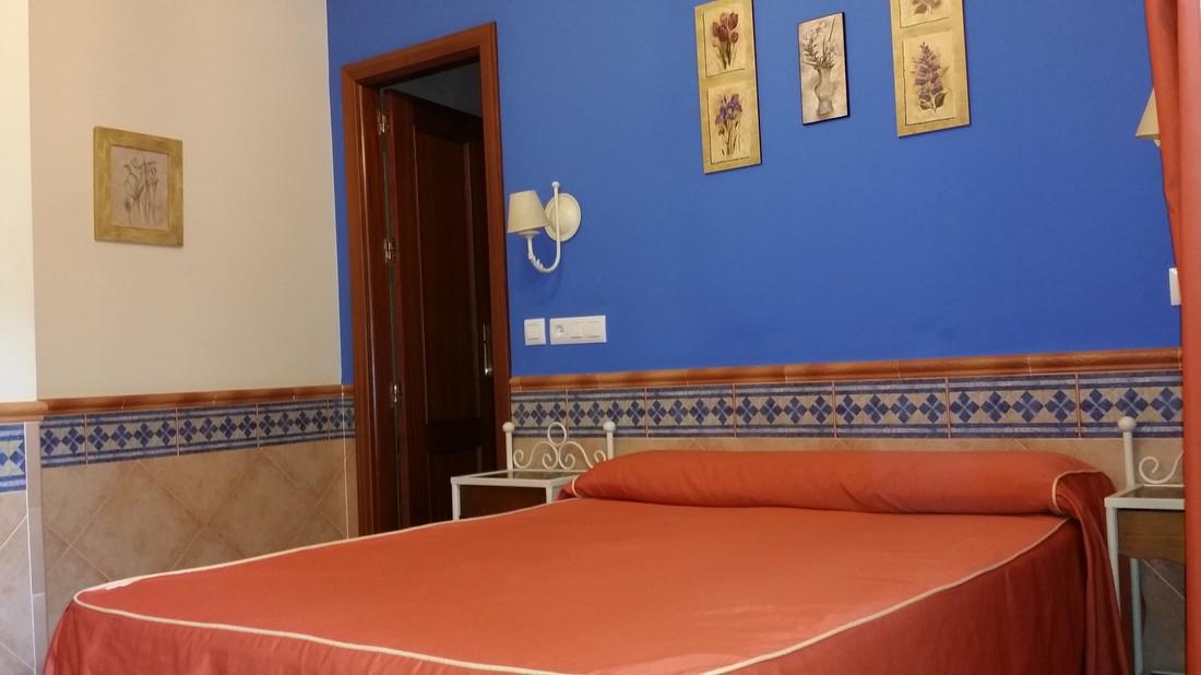 Habitaciones pensión Doña Trinidad Sevilla