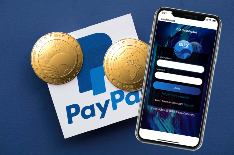 PayPal Has Made Easier For Users To Buy GIFA Token