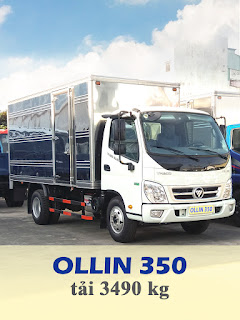xe tải thaco ollin 350 tải trọng 3,5 tấn