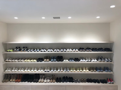 Kanye West Shoe Closet Yeezy @Fashionolic