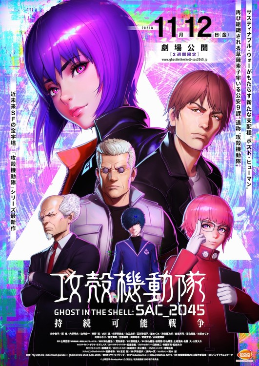 Ghost in the Shell: SAC_2045 - Sustainable Warfare