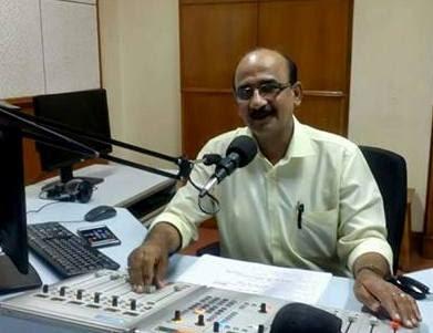 Kamal Sharma, Senior Announcer of Vividh Bharati, AIR retires on 31.08.2017