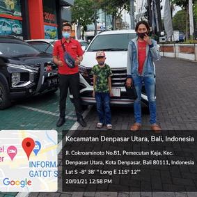 Pelanggan Toyota Bali