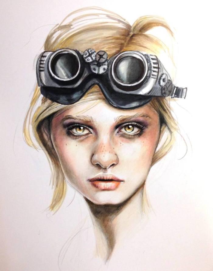 Авангардистские портреты. Jessica Rae Sommer