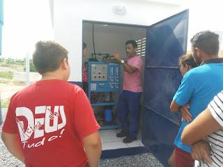 Em Picuí, sistema de dessalinização de comunidade rural recebe equipamentos