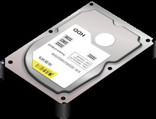 Hard disk of computer images