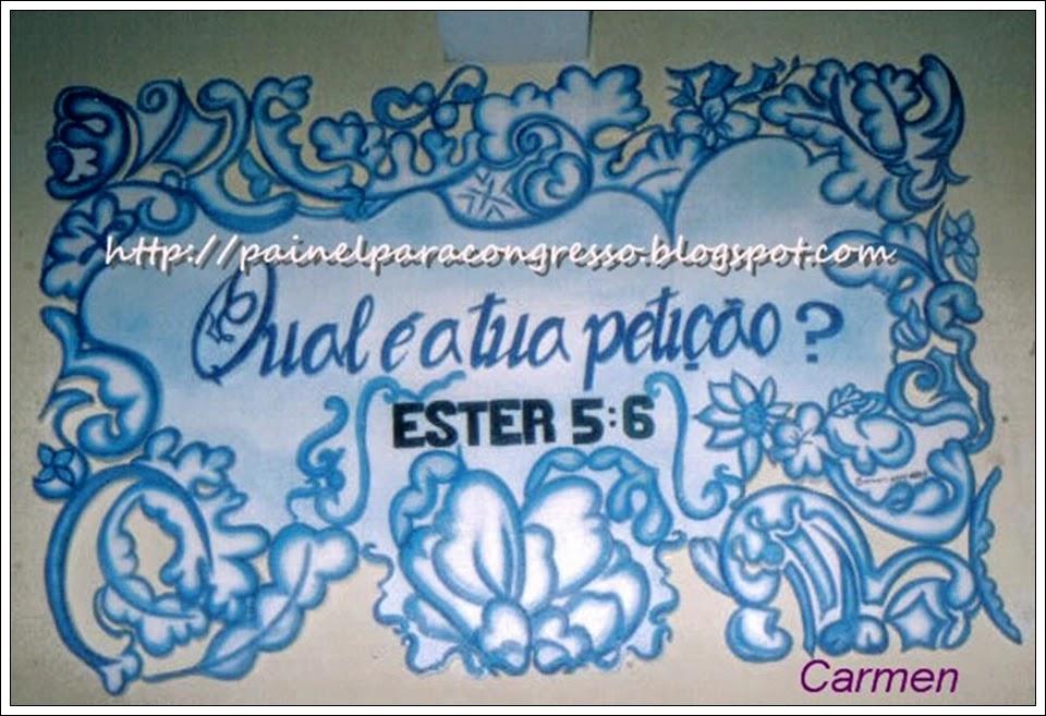 Círculo de oração  /  Ester 5:6