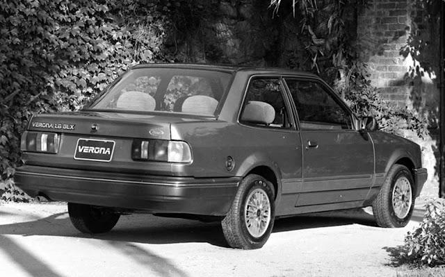 Ford Verona 1990 GLX 1.8: motor e câmbio Volkswagen