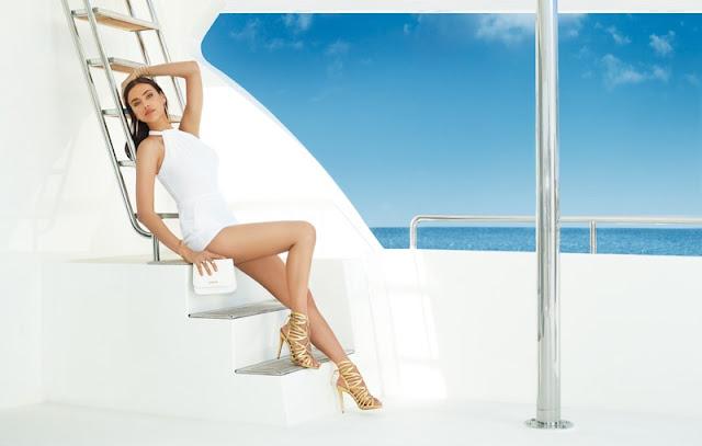 Irina Shayk stars in Bebe's summer 2016 campaign