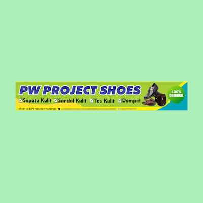 Banner Toko Sepatu dan Sandal Kulit