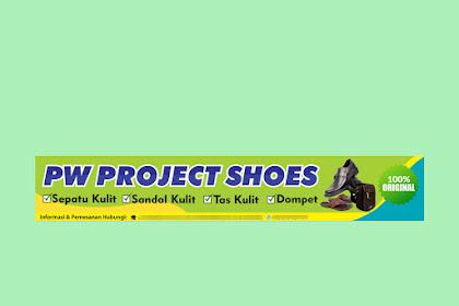 Desain Banner Toko Sepatu dan Sandal Kulit