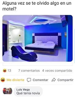 Humor : Olvido en el motel