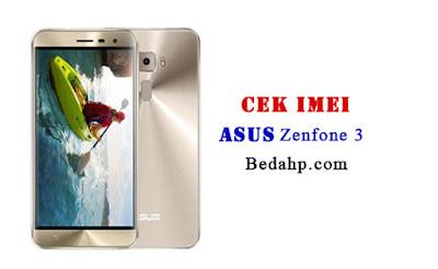 Cara Cek Kode IMEI Asus Zenfone 2 3 4 5 6